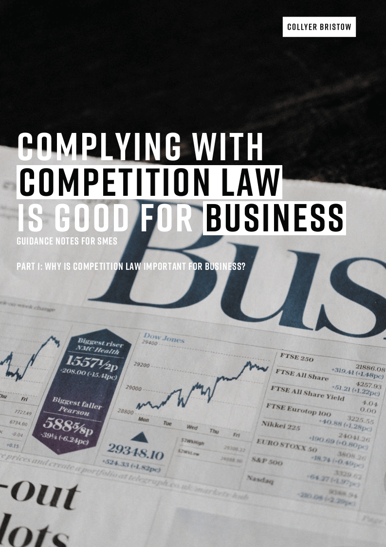 Part 1: Why is competition law important for business?